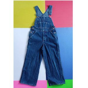 Vintage 1999 GAP Denim Factory Store Overalls